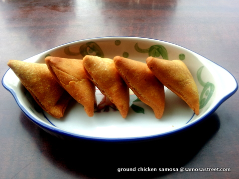 Ground Chicken Samosa