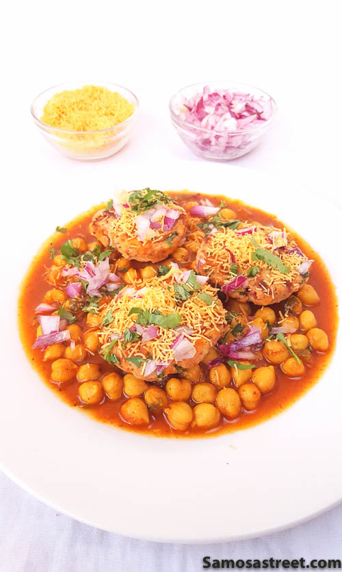 Chicken Tikki Chaat