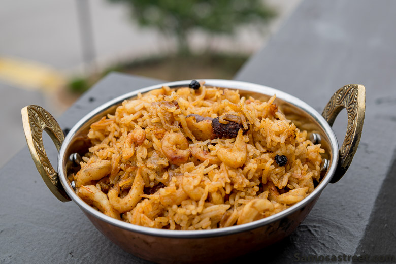 Dry Shrimp Pulav