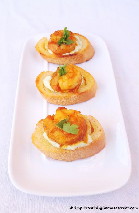 Shrimp Crostini