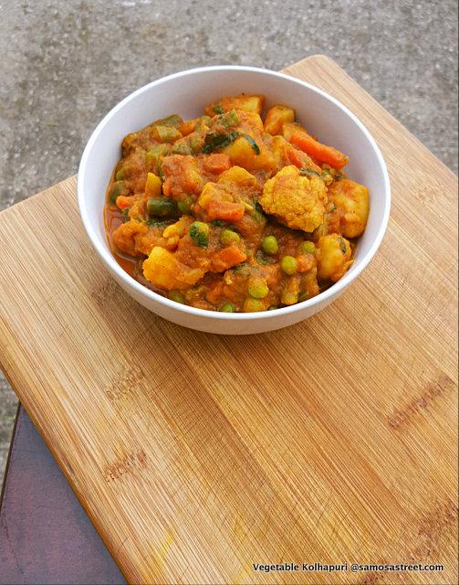 Vegetable Kolhapuri