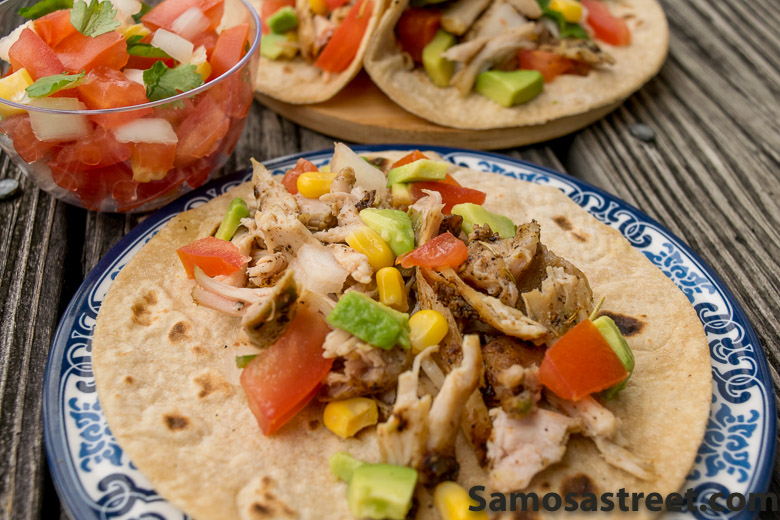 Rosemary Chicken Tacos