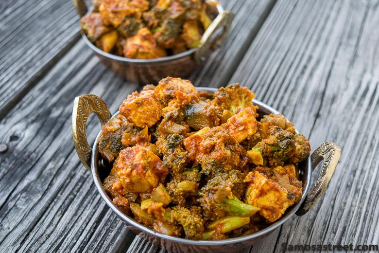 Skillet Broccoli Paneer