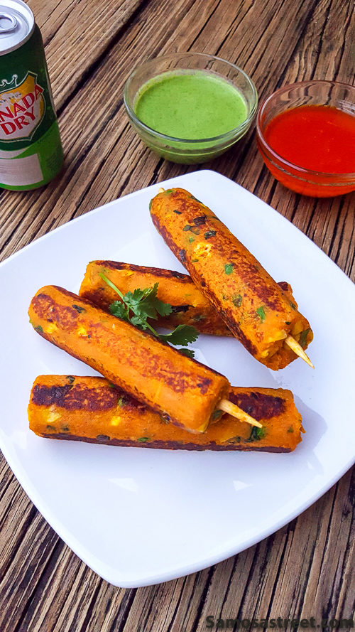 Sweet Potato Hot Dogs